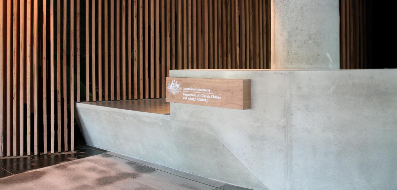Concrete By Design 187 Nishi Reception Desk